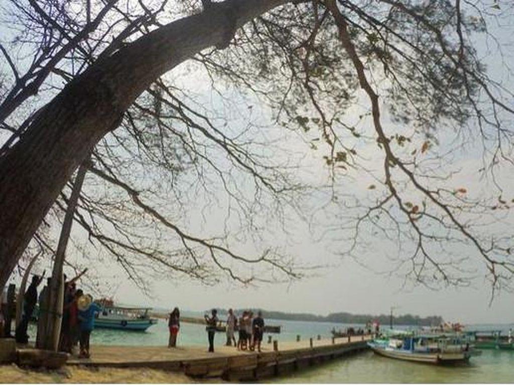 Pulau Bulat Kepulauan Seribu (Kurnia/detikTravel)
