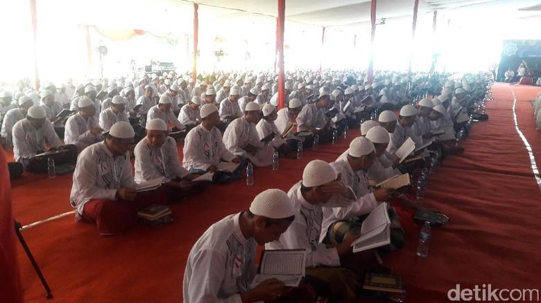 Saat 3 Menteri Jokowi Saksikan Napi Rutan Cipinang Mengaji