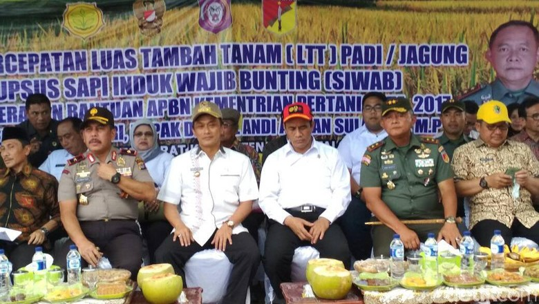 Mentan Beri Bantuan Rp 177 M ke 6 Kabupaten/Kota di Gorontalo