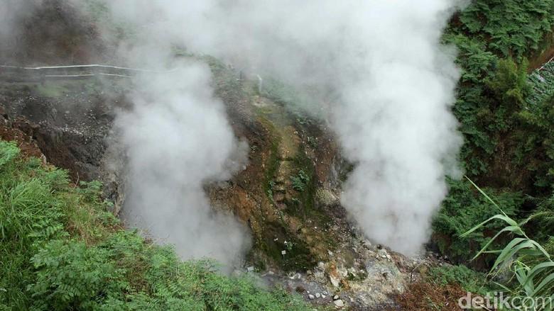 Kawah Candradimuka di Banjarnegara (Randy/detikTravel)