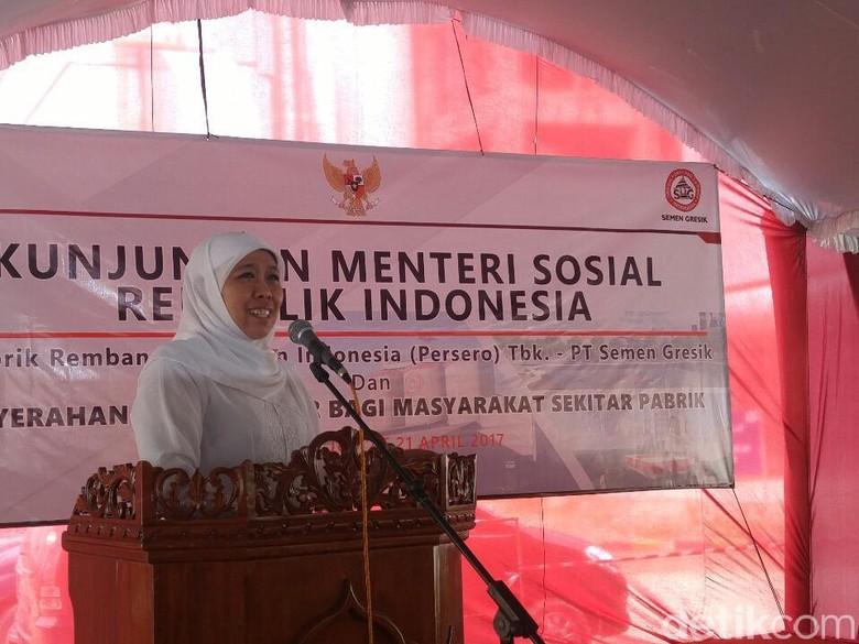 Cek Dampak Sosial Pabrik Semen Rembang, Mensos: Seeing is Believing