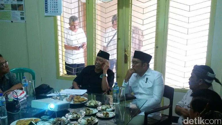 Ridwan Kamil Curhat Soal Leluhurnya Ke Solihin GP