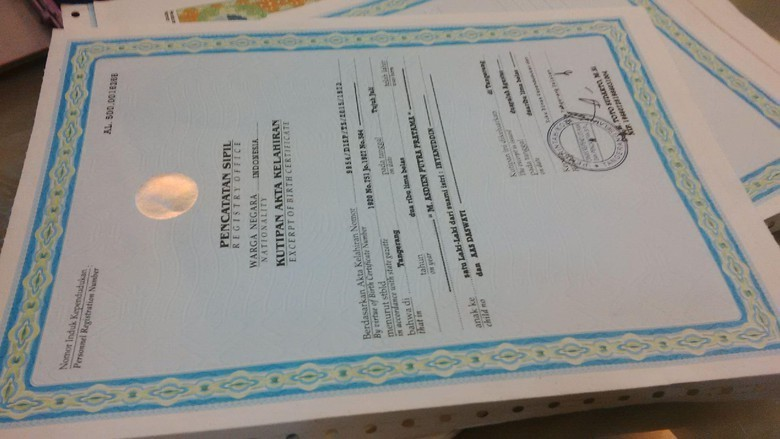 Urus Akta Kelahiran di Semarang Kini Bisa Online, Satu Hari Jadi