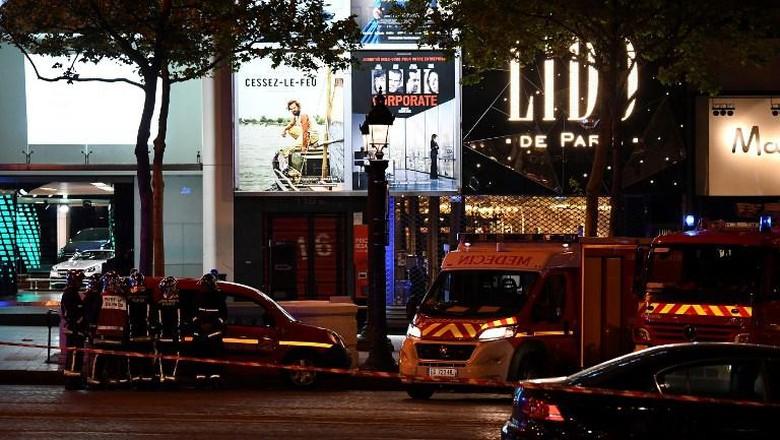 Trump Sebut Penembakan di Champs Elysees Seperti Serangan Teroris