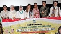 Pengurus Kesatuan Perempuan Golkar Nobar Film Kartini