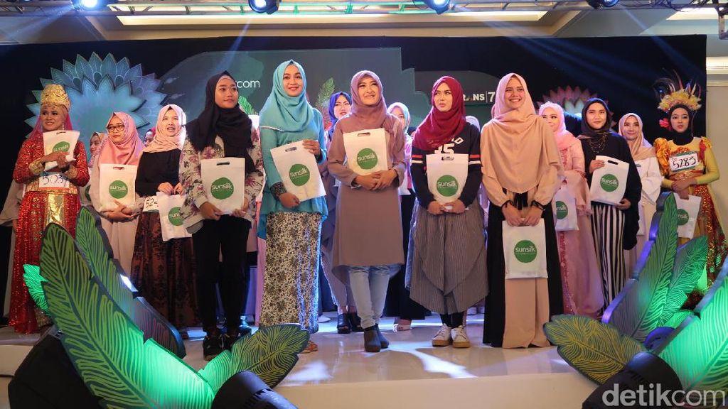 Selamat! 30 Hijabers Lolos Audisi Sunsilk Hijab Hunt Bandung Hari I