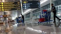 Atap Terminal 3 Bandara Soetta Bocor, Air Hujan Menggenangi Lantai