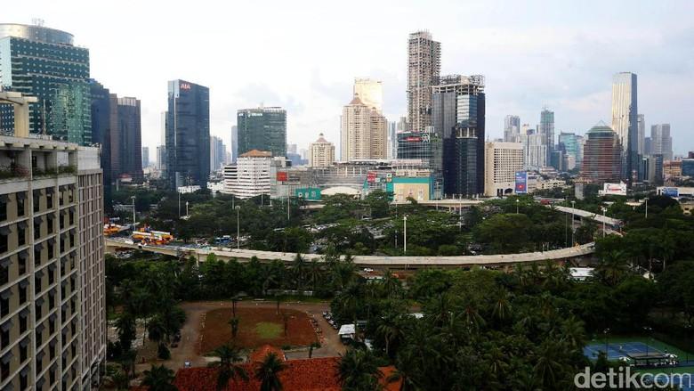 Jadi Ikon Baru Jakarta, Simpang Susun Semanggi Rampung 90%