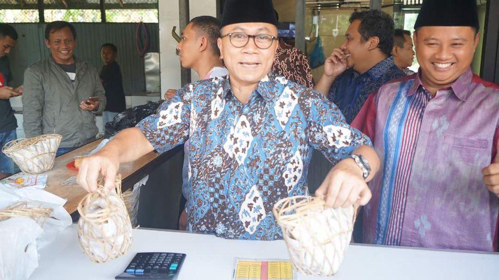 Dukung UKM, Ketua MPR Dorong Tahu Sumedang Bisa Mendunia