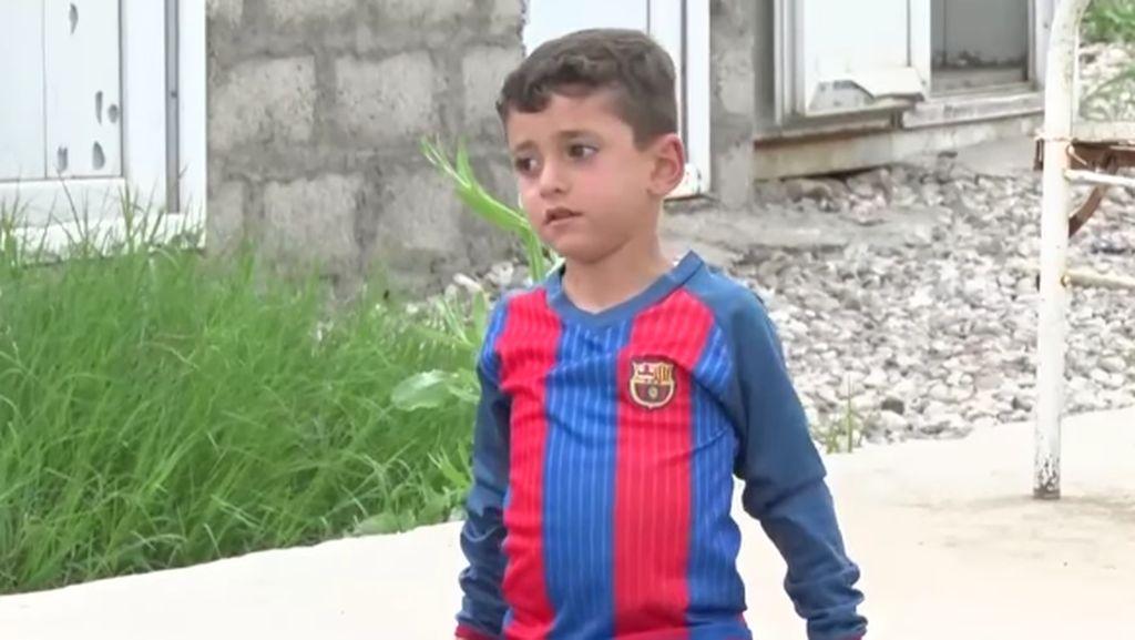 Kisah Messi dari Irak yang Diculik ISIS