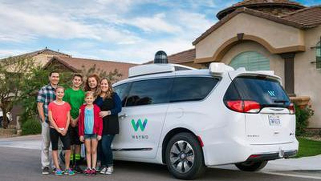 Saingi Uber, Waymo Bikin Truk Otonom