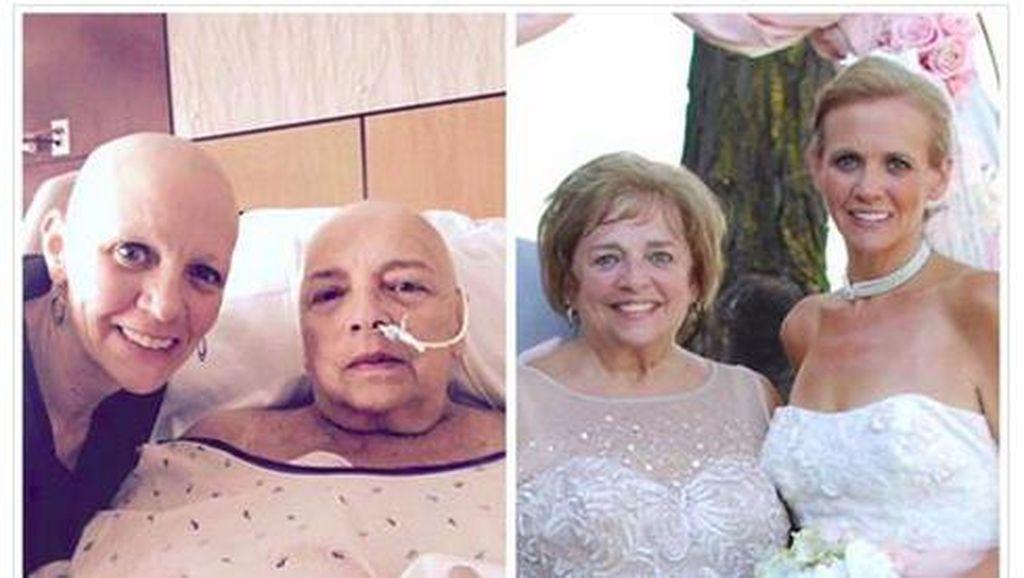 Berkat Sang Ibu, Wanita Ini Kembali Pede Meski Botak Pasca Dikemoterapi