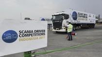 Sosialisasi dan Edukasi di Scania Driver Competitions