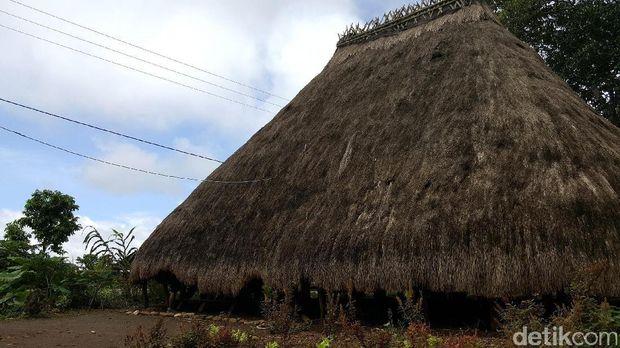 Rumah adat Siri Gatal tampak luar (Fitraya/detikTravel)