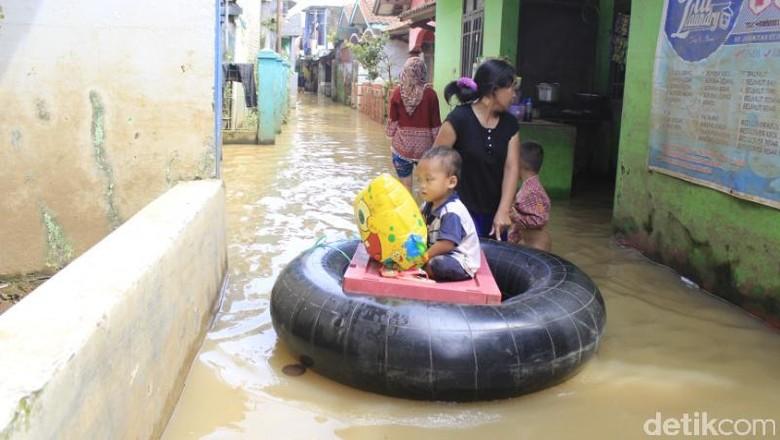 Musim Penghujan, 16 Kecamatan di Kabupaten Bandung Rawan Banjir
