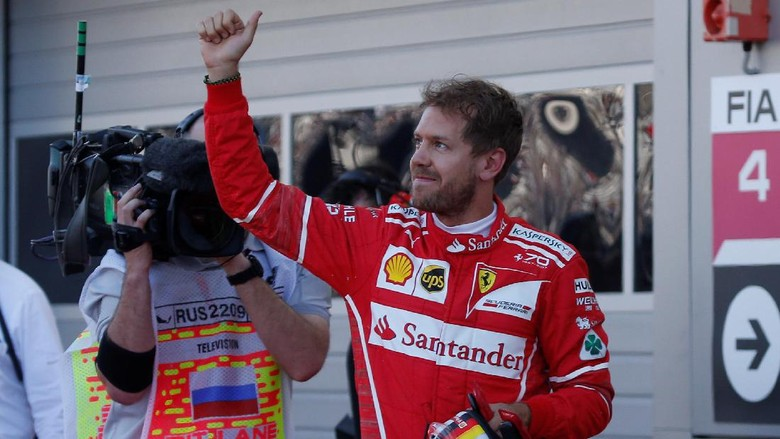 Akhiri Puasa Pole, Vettel: Rasanya Sudah Lama Sekali!