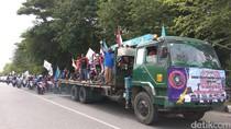 May Day, Buruh di Aceh Sampaikan Tuntutan Sambil Konvoi