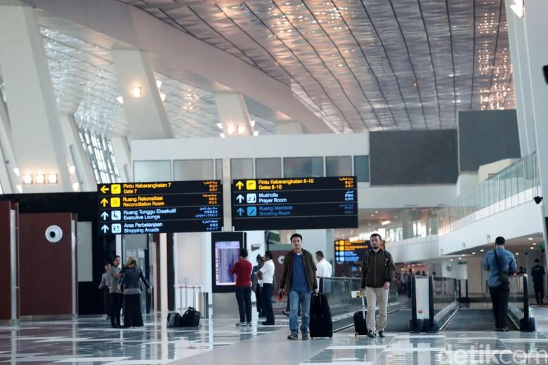 Terminal 3 Bandara Soetta Tergenang, AP II: Ada Talang Air Pecah