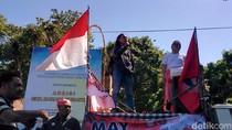 May Day di Bali Diisi dengan Joget dan Pembacaan Tuntutan