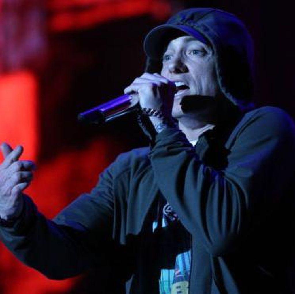 Eminem 10 Tahun Lepas dari Ketergantungan Alkohol dan Obat
