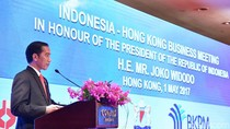 Di Depan Investor Hong Kong, Jokowi Sebut Anies Mampu Pimpin DKI