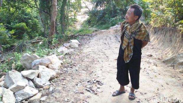 Maryoto, salah seorang warga setempat (Bonauli/detikTravel)