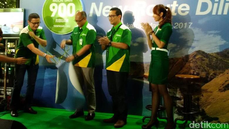 Peluncuran rute Citilink Jakarta Dili (Masaul/detikTravel)