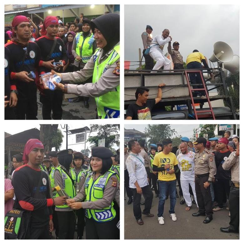 Meriah, Buruh di Purwakarta Gelar Parade Rayakan May Day