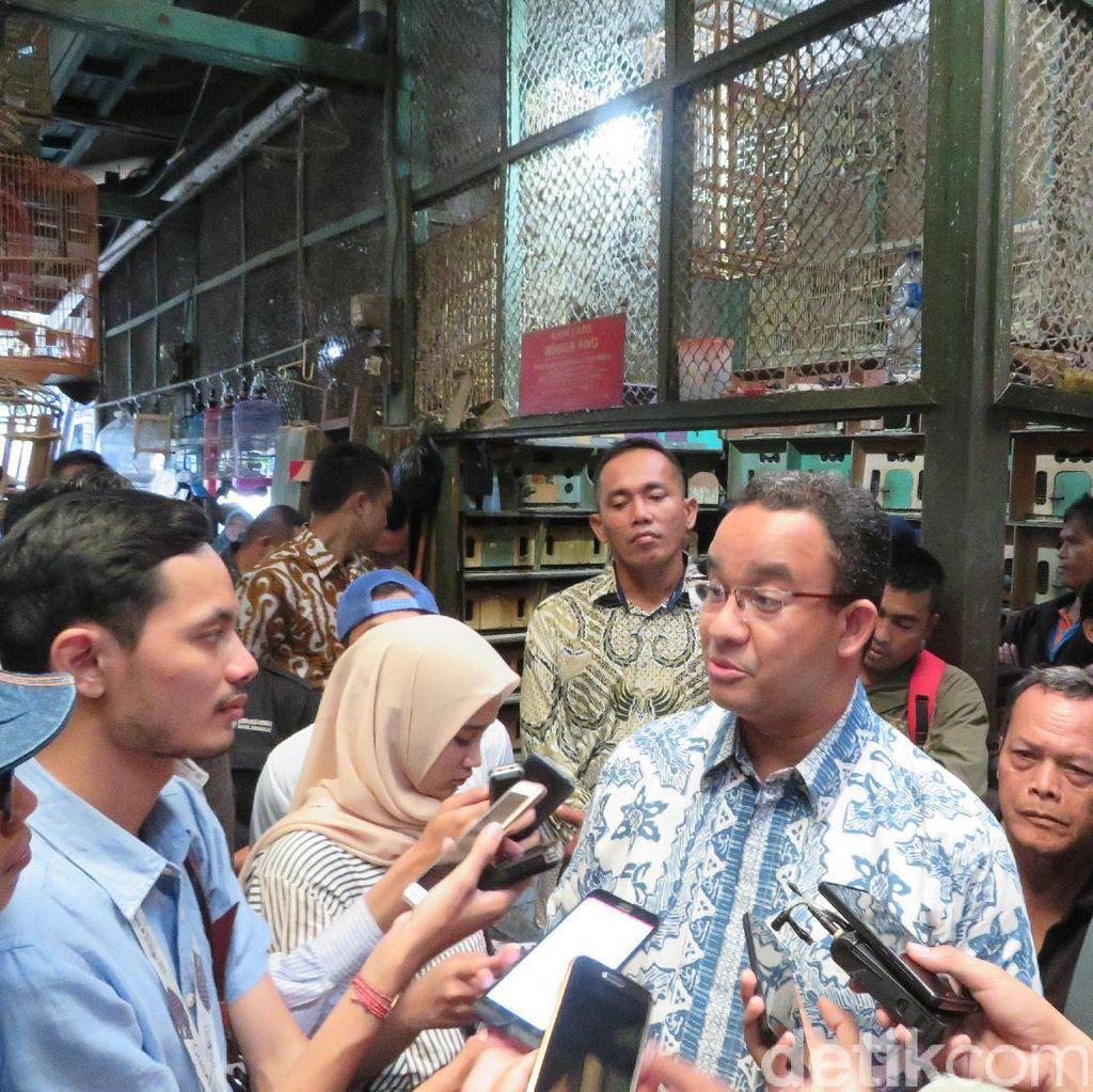 Harapan Pedagang Pasar Burung Pramuka ke Gubernur Baru
