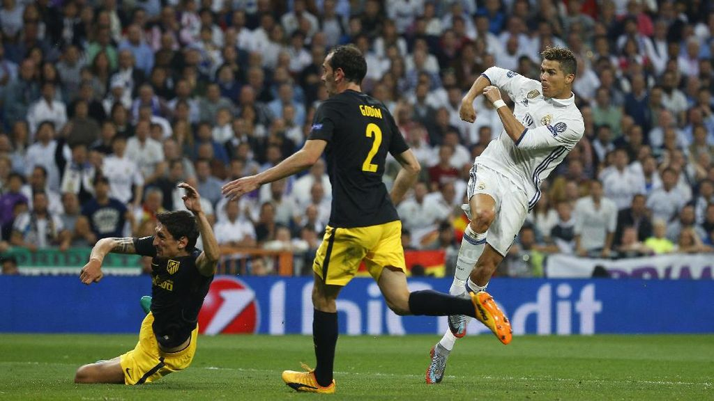 Ronaldo yang Menyeramkan untuk Atletico