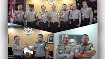 4 Polisi Duta Baca Buku Diganjar Hadiah Sekolah dari Kapolri