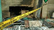 Lokasi Kebakaran di Kawasan Blok M Digaris Polisi
