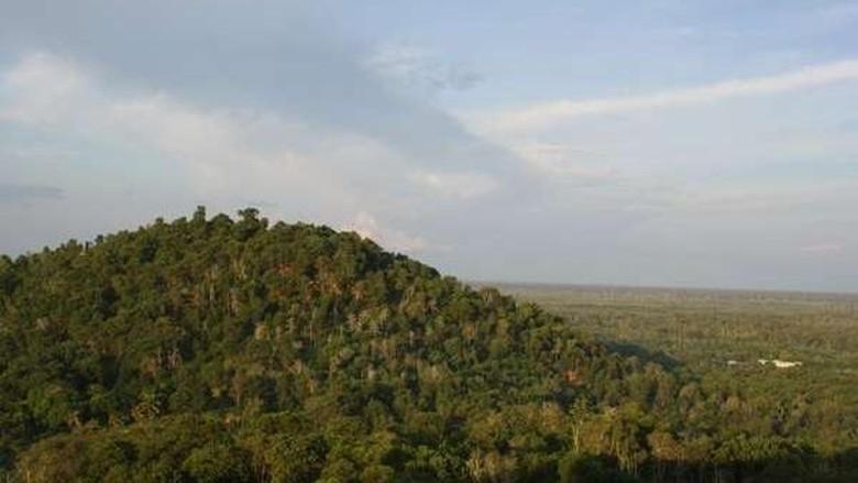 Foto: Bukit Tangkiling di Palangkaraya (M Yusuf Simatupang/dTraveler)