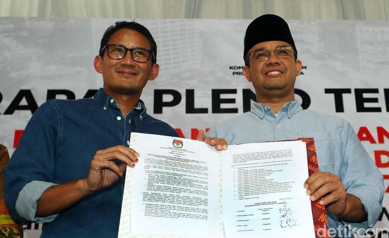 Soal Sudirman Said di Tim Sinkronisasi, Sandiaga: Belum Fix