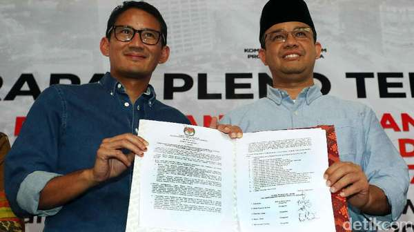 Soal Sudirman Said di Tim Sinkronisasi, Sandiaga: Belum Fix