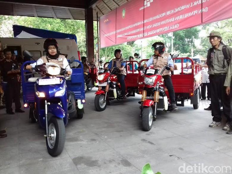 E-Warong Kini Berkeliling Pakai Kendaraan Roda Tiga