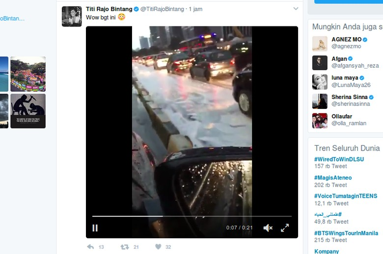 Kabar Salju di Jakarta Cuma Hoax, BMKG: Itu Busa Tumpah