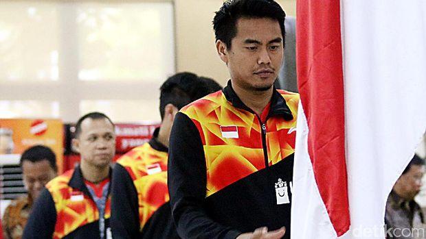 Tontowi Ahmad, salah satu andalan Indonesia di Piala Sudirman 2017