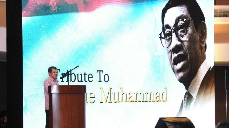 Wapres JK Kenang Marie Muhammad: Konseptor yang Luar Biasa