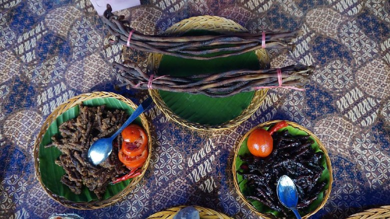 Foto: Insonem, makanan penambah kejantanan para pria dari Raja Ampat (Masaul/detikTravel)