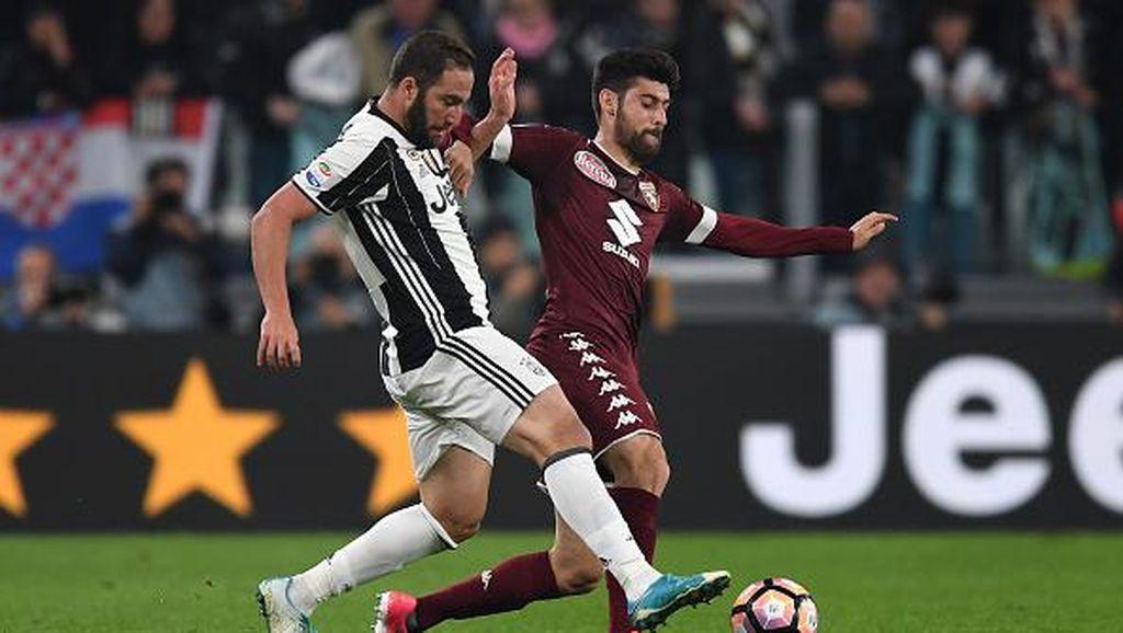 Turunkan Pemain Lapis Kedua, Juventus Diimbangi Torino 1-1