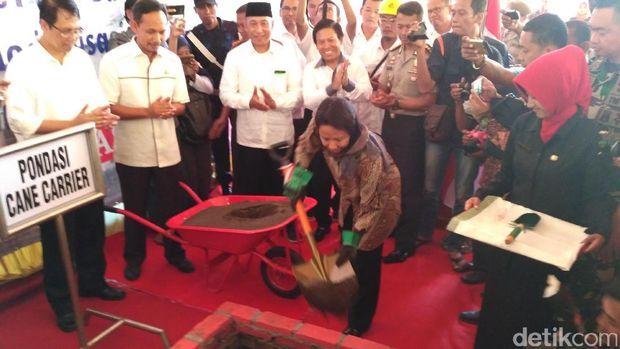 Rini Soemarno revitalisasi pabrik gula di Situbondo