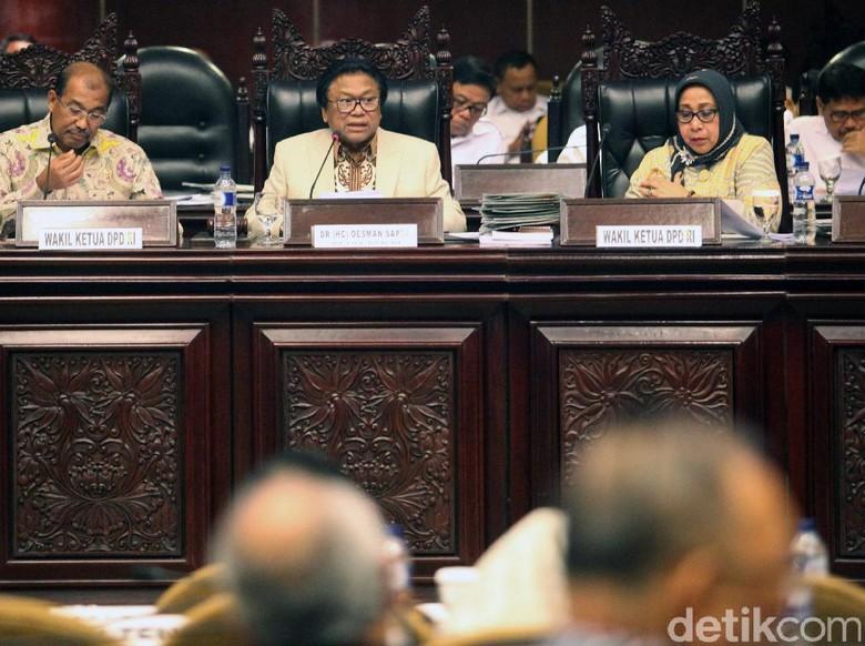 Sekjen DPD Bantah Dana Reses Disetop karena OSO Ingin Diakui
