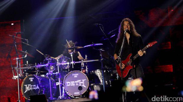Megadeth di Hammersonic 2017.