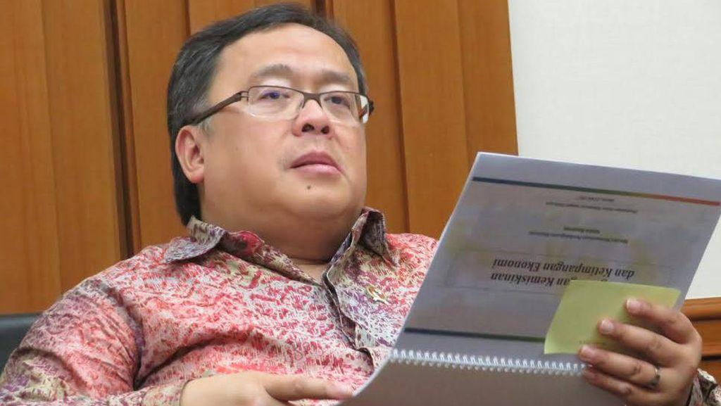 Kepala Bappenas Lapor ke Jokowi Hasil Kajian Pindah Ibu Kota