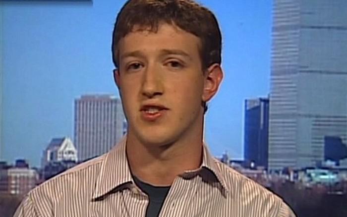 Mark Zuckerberg muda. Foto: YouTube