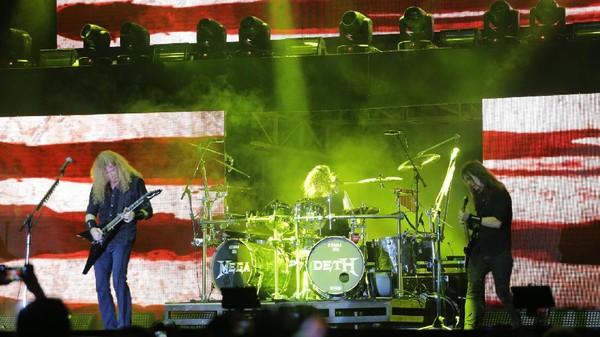 Megadeth Sempurna Tutup Hammersonic 2017