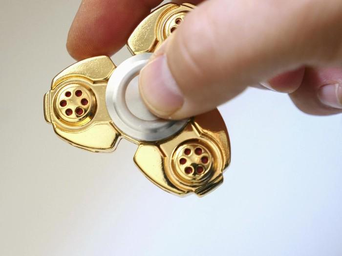 Fidget spinner, terutama yang terbuat dari logam bisa mengandung timbal berbahaya. (Foto: Thinkstock)