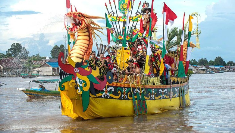 Foto: Festival Budaya Isen Mulang (Kemenpar/Twitter)