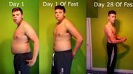 Viral, Pria yang Bobotnya Turun 23 Kg dengan Minum Air Putih Sebulan